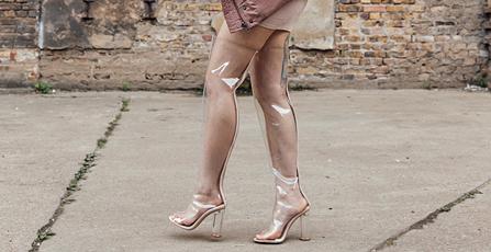 Perspex Boots