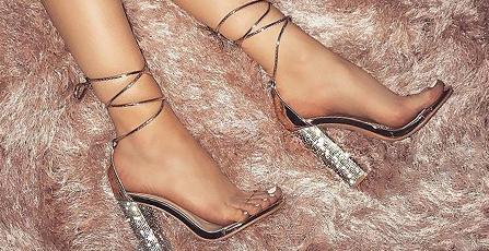 Gem/Crystal Heels