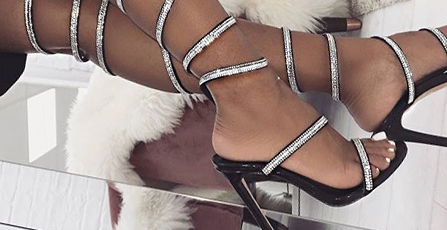 Gem/Crystal Heels