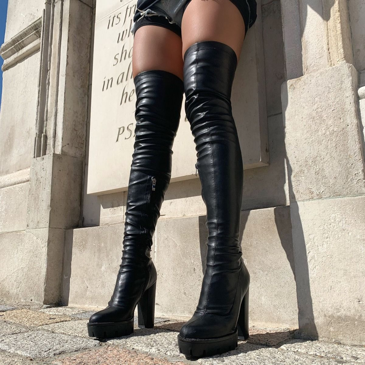 thigh platform boots promo code for