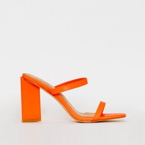 Ivan Coral Snake Print Block Heel Mules