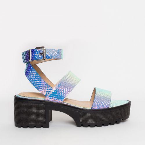 Sienna Rainbow Snake Chunky Sandals