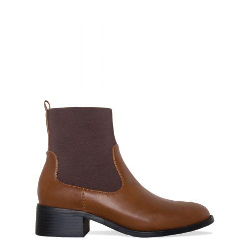 Leah Tan Ankle Chelsea Boots