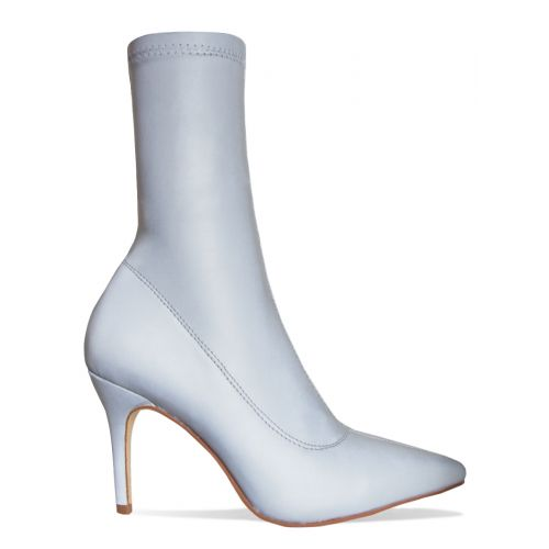 Letty Reflective Lycra Ankle Boots