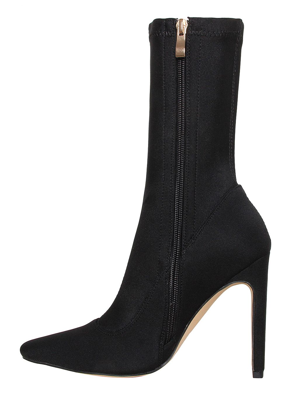 slim heel ankle boots