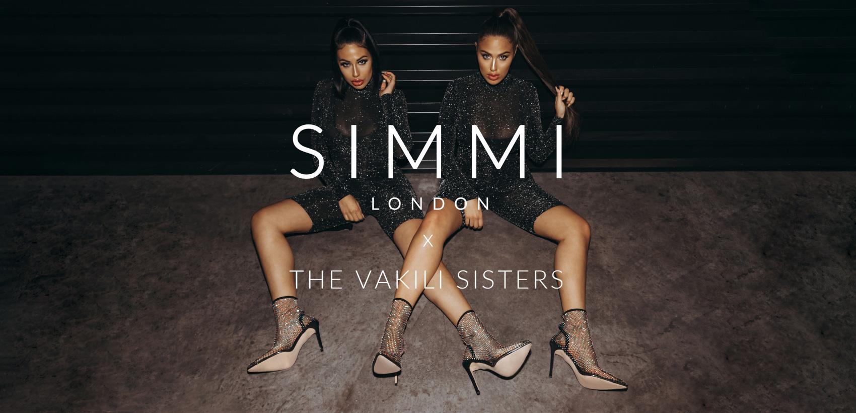 Simmi London X Vakili Sisters